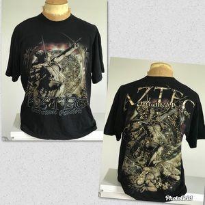 Men's Aztec Untamed Passion T-shirt sz XL